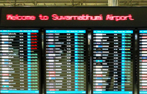 delayed flights suvarnabhumi don mueang