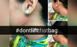 dont lift that bag hashtag