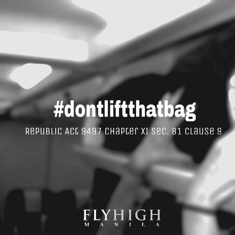 dont lift that bag