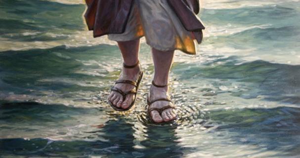 Peter walks on water Pinoy Thaiyo