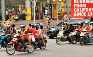 motortaxi in bangkok