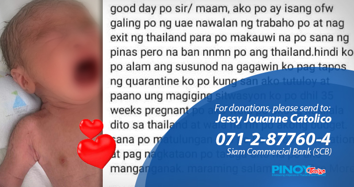 pinoythaiyo ofw baby stranded in thailand 2