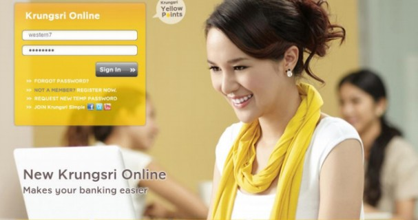 sending money thru western union krungsri bank