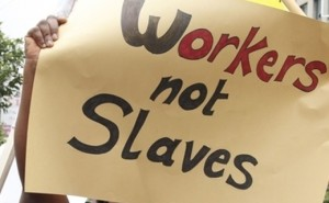 workers not slaves